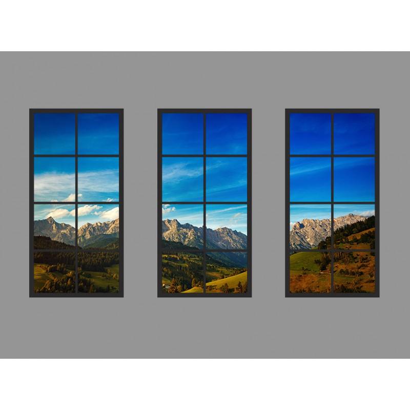 60x120 Yapay Pencere